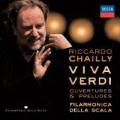 Album artwork for Verdi: Overtures & Preludes / Chailly