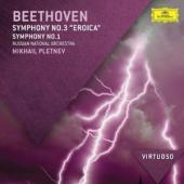 Album artwork for Beethoven: Symphonies Nos. 1 & 3 -