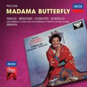 Album artwork for Puccini: Madama Butterfly / Tebaldi, Serafin