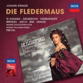 Album artwork for J. Strauss: Die Fledermaus / Te Kanawa, Brendel