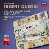 Album artwork for Tchaikovsky: Eugene Onegin / Weikl, Hamari, Solti