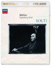 Album artwork for MAHLER: SYMPHONIE 8 / Solti