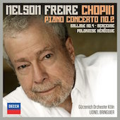 Album artwork for Chopin: Piano Concerto No 2 / Freire