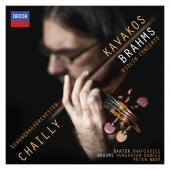Album artwork for Brahms: Violin Concertos / Kavakos