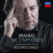 Album artwork for Brahms: Symphonies / Chailly