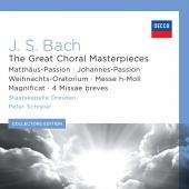 Album artwork for Bach: The Great Choral Masterpieces / Schreier