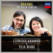 Album artwork for Brahms: Violin Sonatas 1-3 / Kavakos, Wang