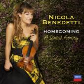 Album artwork for Nicola Benedetti - Homeconing: A Scottish Fantasy