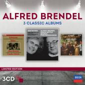 Album artwork for Alfred Brendel: 3 Classic Albums