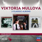 Album artwork for Viktoria Mullova: 3 Classic Albums