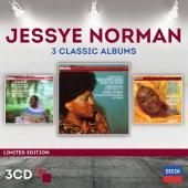 Album artwork for Jesseye Norman: 3 Classic Albums