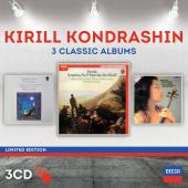 Album artwork for Kirill Kondrashin - 3 Album Classics