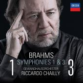 Album artwork for Brahms: Symphonies 1 & 3 / Chailly