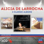 Album artwork for Alicia de Larrocha - 3 Classic Albums