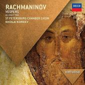 Album artwork for RACHMANINOV VESPERS