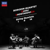 Album artwork for SHOSTAKOVICH: STRING QUARTETS 1, 8 & 14