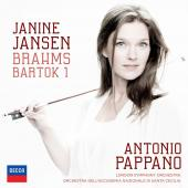 Album artwork for Brahms & Bartok: Violin Concerto #1 / Jansen, Papp