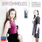 Album artwork for BARTOK: 44 DUOS FOR VIOLIN