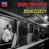 Album artwork for Shostakovich: Piano Trios 1 & 2, Ashkenazy, etc