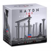 Album artwork for Haydn: 107 Symphonies on Period Instruments