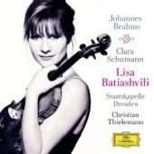Album artwork for Brahms: Violin Concerto / Batiashvili