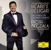Album artwork for Beczala: HEARTS DELIGHT THE SONGS OF TAUBER