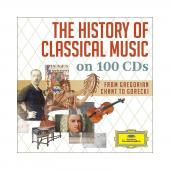 Album artwork for History of Classical Music on 100 CDs