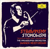 Album artwork for Stravinsky: The Rite of Spring / Stokowski: Bach T