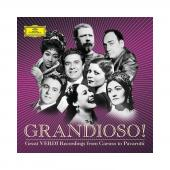 Album artwork for Grandioso! Great Verdi Recordings