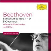 Album artwork for Beethoven: Complete Symphonies, 5 Overtures / Bohm