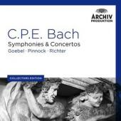 Album artwork for CPE Bach: Symphonies (Archiv Collector's Edition)