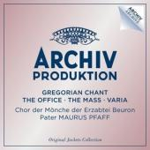 Album artwork for Gregorian Chant, The Office, the Mass, Varia