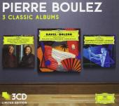 Album artwork for Pierre Boulez: 3 Classic Albums