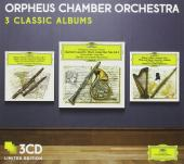 Album artwork for Orpheus Chamber Orchestra: 3 Classic Albums