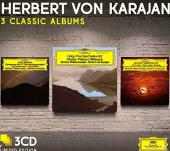 Album artwork for Karajan: 3 Classic Albums / Nielsen, Sibelius, etc