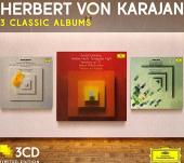 Album artwork for Karajan: 3 Classic Albums / Schoenberg, Webern,