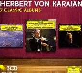 Album artwork for Karajan: 3 Classic Albums / Mozart, Bizet, etc.