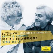 Album artwork for Lutoslawski: Piano Concerto / Zimerman, Rattle