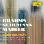 Album artwork for Piano Quartets: Brahms, Schumann, Mahler / Hope