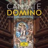 Album artwork for CANTATE DOMINO / Sistine Chapel Choir, Palombella