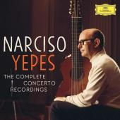 Album artwork for Yepes - The Complete Concerto Recordings (5CD)