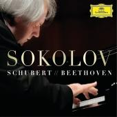 Album artwork for Sokolov plays Schubert & Beethoven 3-LP