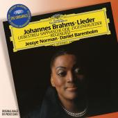 Album artwork for BRAHMS LIEDER / Jesseye Norman