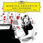 Album artwork for EARLY RECORDINGS - Martha Argerich (2LP)
