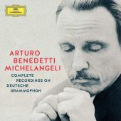 Album artwork for Michelangeli - Complete Recordings on DG 10-CD