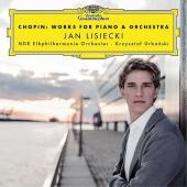 Album artwork for Chopin: Works for Piano & Orchestra / Lisiecki