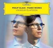 Album artwork for PHILIP GLASS PIANO WORKS / Olafsson
