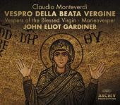 Album artwork for Monteverdi: Vespro della Beata Virgine / Gardiner
