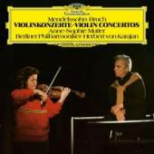 Album artwork for Mendelssohn& Bruch Violin Concertos (Mutter)