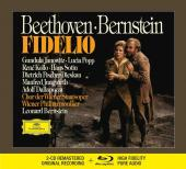 Album artwork for Beethoven: Fidelio / Bernstein (CD & Blu-ray)